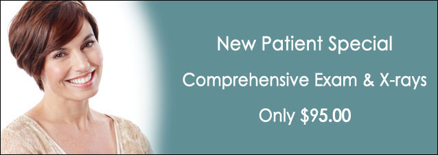 New Patient Special: Comprehensive Exam and X-rays only $79.00!